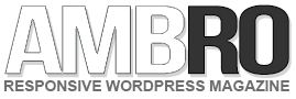 Ambro responsive magazine wordpress theme